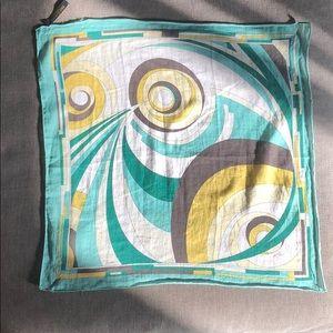 Emilio Pucci cotton scarf/handkerchief